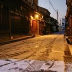 【雪風情】 鞆の浦~雪町~/広島県福山市