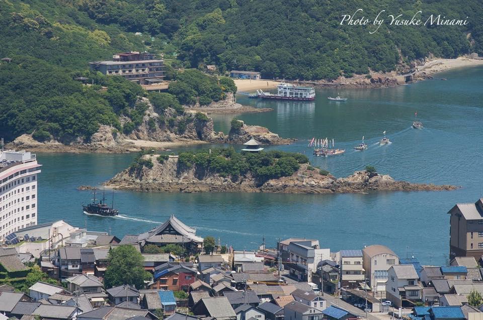 【福山市観光鯛網】鞆の浦~2016観光鯛網~