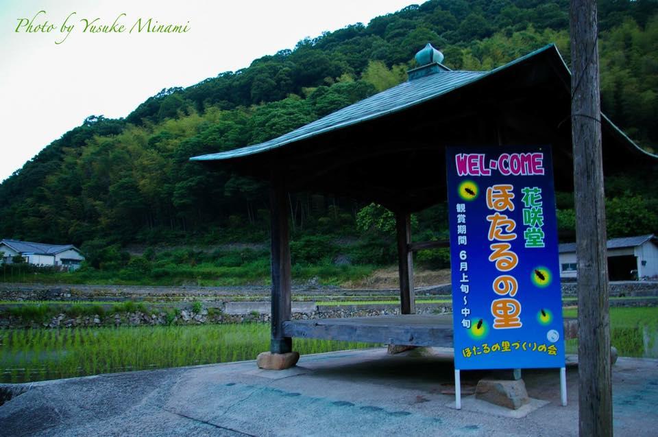 福山市でホタルが観測できる場所は熊野町!花咲堂の蛍景色~2016蛍はじめ~
