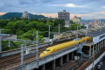 【幸せ列車】 6月のドクターイエロー福山駅到着 広島県福山市