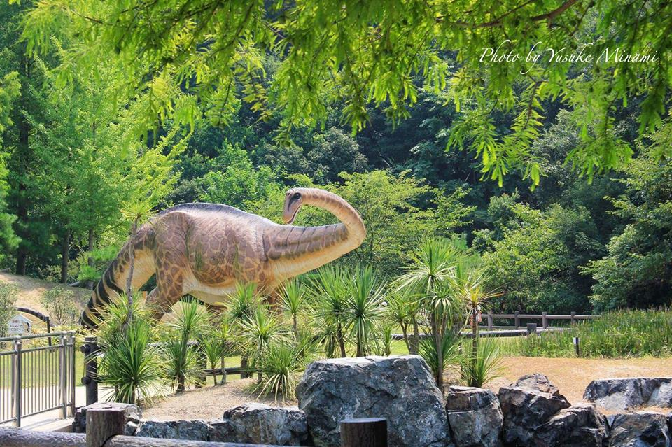 【笠岡にもシン・ゴジラ出現??】 笠岡市に潜む恐竜の公園/岡山県笠岡市