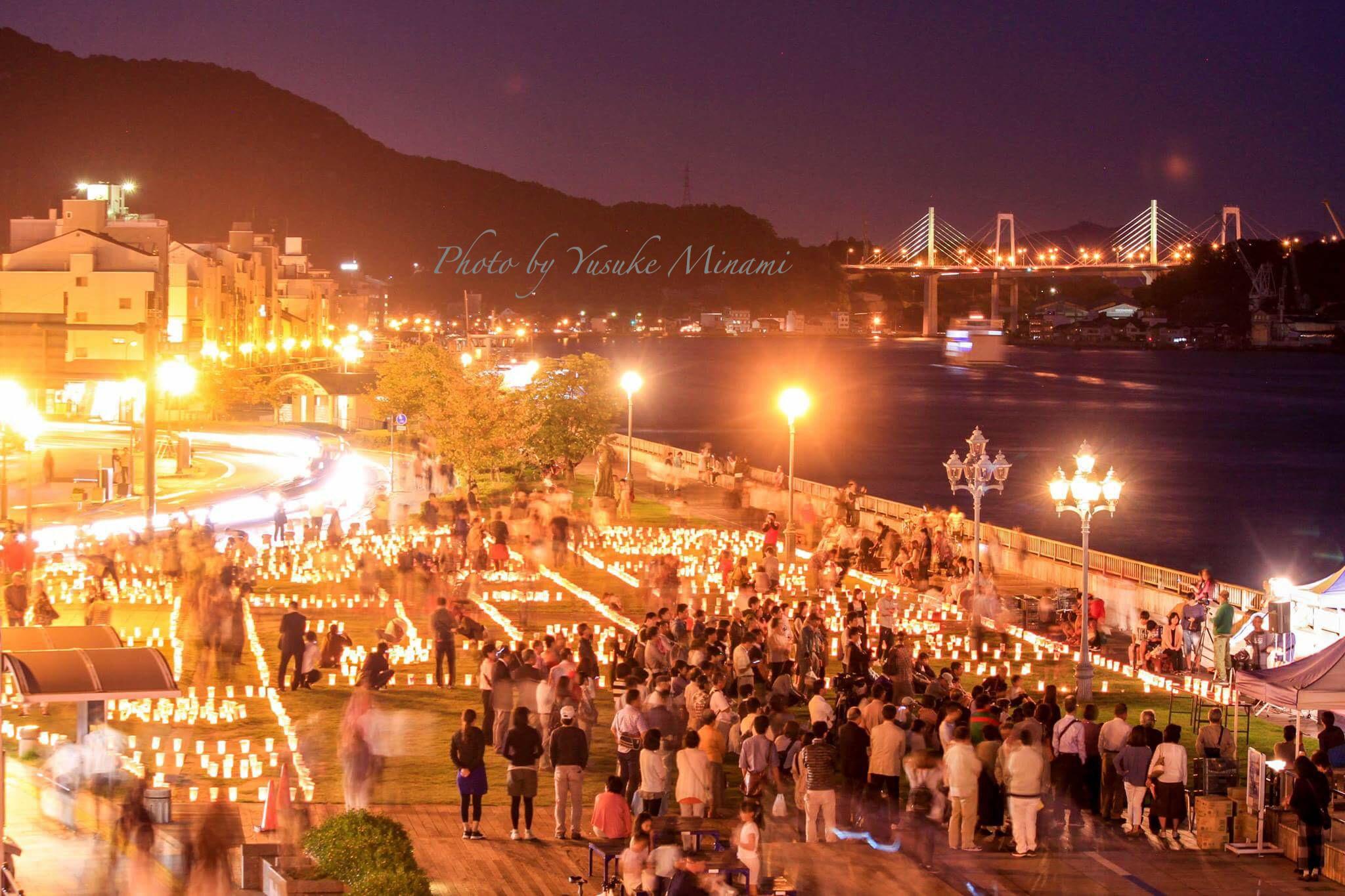 【尾道灯りまつり2017】10月7日開催!尾道灯りまつりはどんな雰囲気?/広島県尾道市