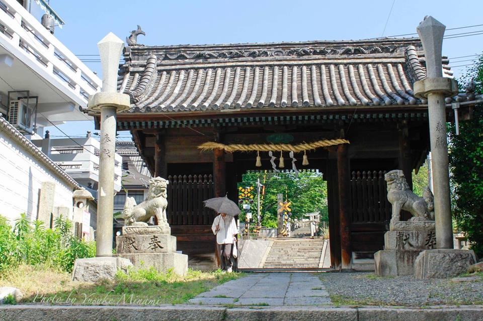 ブラタモリ尾道ロケ地めぐり④~古い神社・八坂神社と八幡神社~