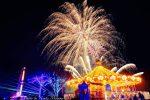 【みろくの里イルミネーション2018】花火打ち上げはいつ?注目は1万本の光るバラ!/広島県福山市