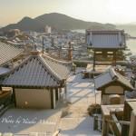 雪の医王寺~鞆の浦・白銀の世界~/広島県福山市