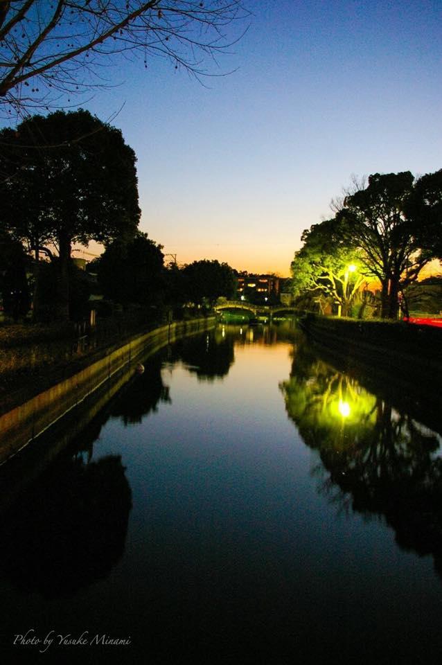 福山市 どんどん池~水鏡~