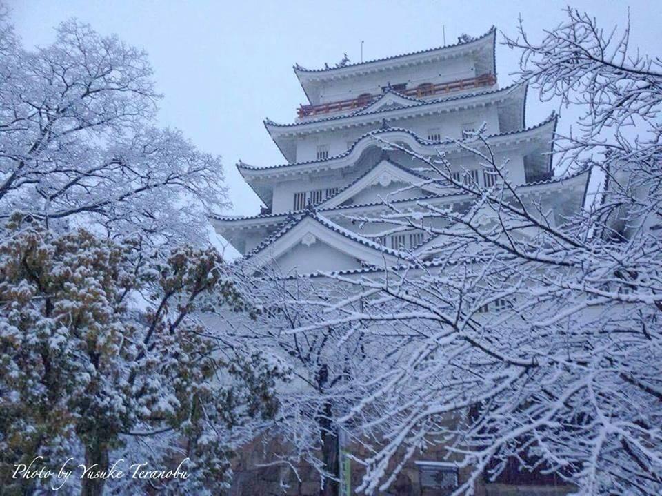 【福山雪景色】 福山市、雪のある風景写真/広島県福山市