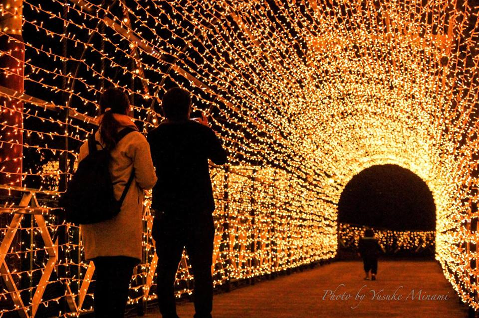 みろくの里ウィンターイルミネーション2018開催中、2019年1月6日まで!/広島県福山市