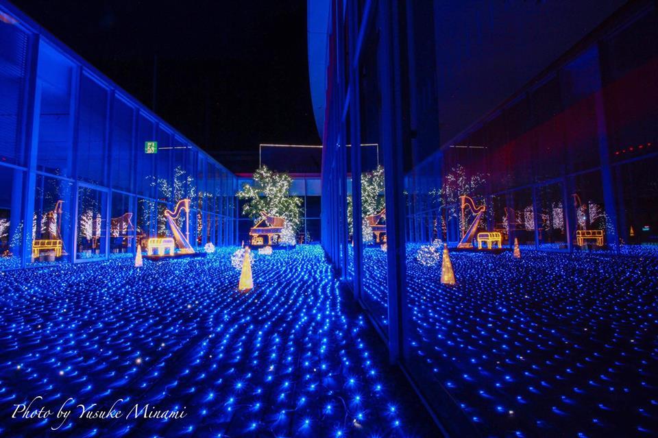 ポポロ冬の祭りウィンターイルミネーション2020が三原市芸術文化センターで開催、2018年11月17日~2019年1月20日まで!/広島県三原市