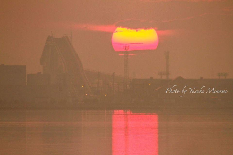 【ベタ踏み坂】江島大橋からの朝日と急勾配の撮影スポットはどこ?/島根県松江市