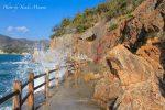 【五色岩】仙酔島のパワースポットは田ノ浦海岸の海遊歩道の先にある!?/広島県福山市
