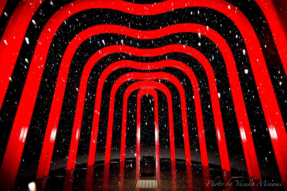 【福山雪景色2019】福山城や福山駅の釣り人像など初雪を巡る!/広島県福山市